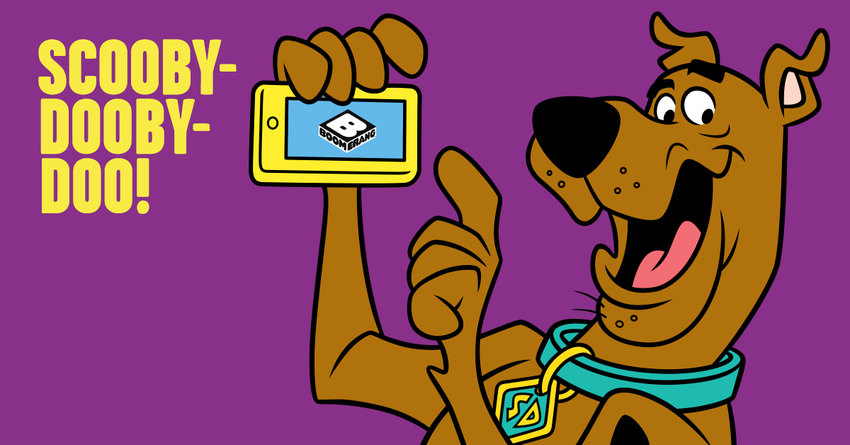 Scooby-Doo Boomerang graphic