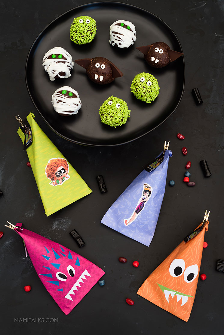 Monster Energy Balls and Monster treat bags.