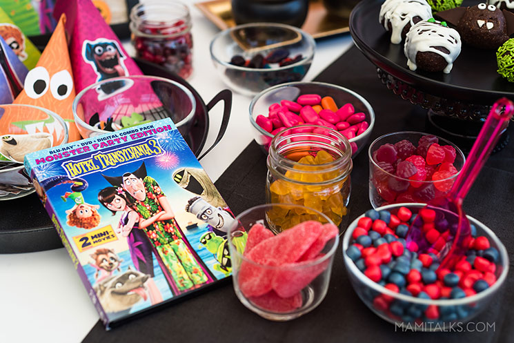 Halloween Monster Party ideas with Hotel Transylvania 3 movie