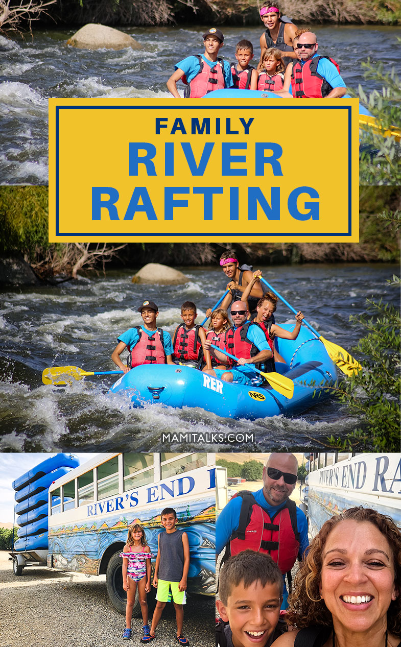 Family river rafting -mamitalks.com