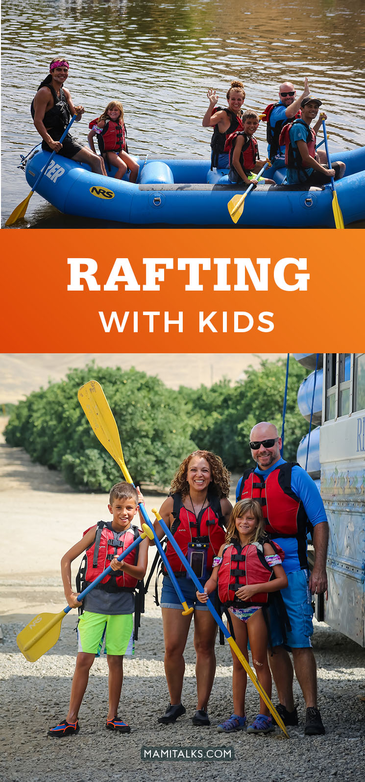 Rafting with kids -MamiTalks.com