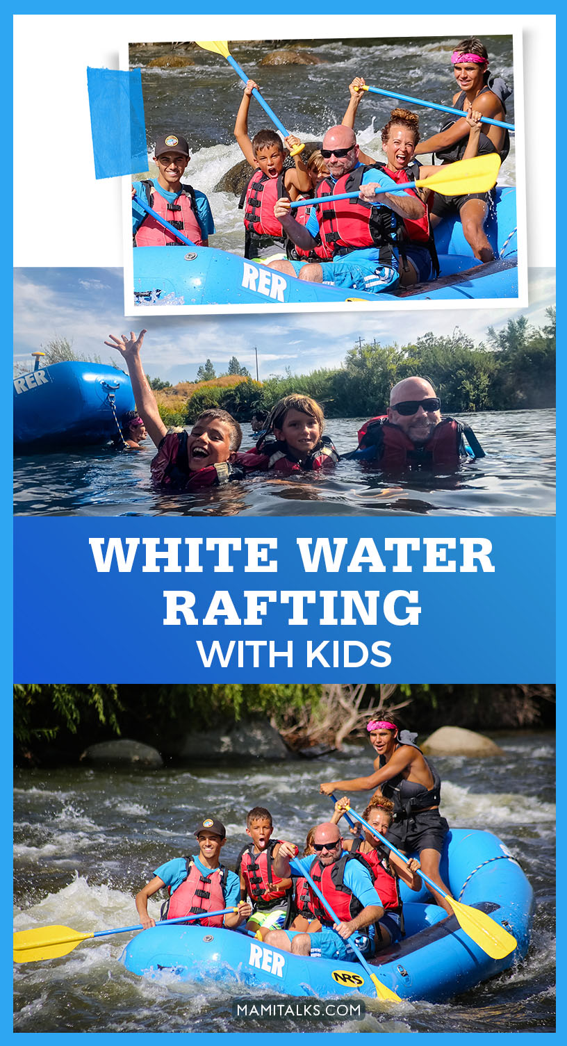 White Water rafting with kids -MamiTalks.com