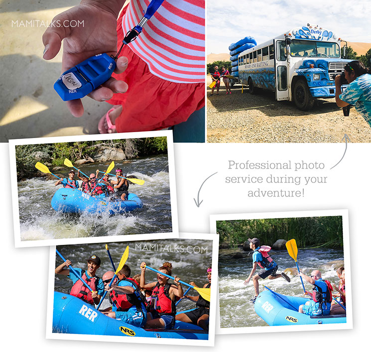 Family river rafting, super soft waters, USB with profesional photos. -mamitalks.com