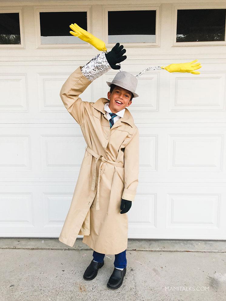 Inspector Gadget costume -MamiTalks.com