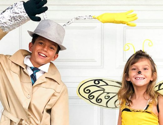 Inspector Gadget costume and bee. -MamiTalks.com
