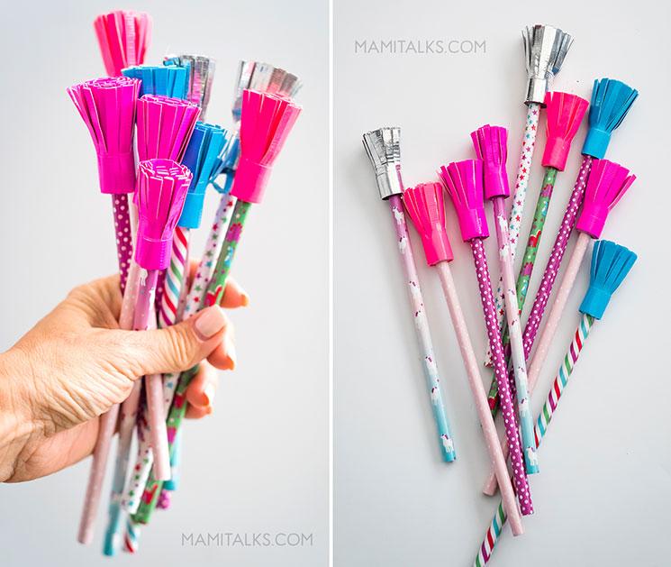 Manualidades de lápices para San Valentín -MamiTalks.com