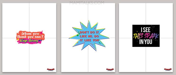 Motivational poster templates. Mamitalks.com