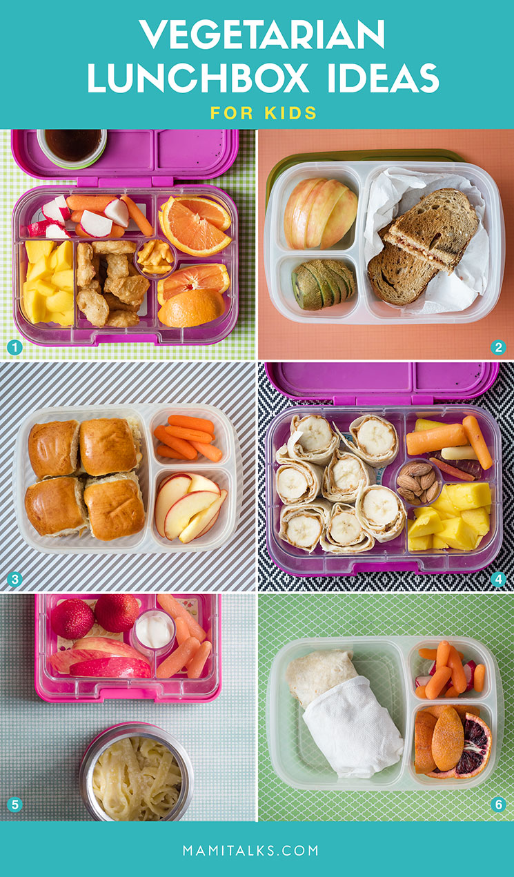12 vegetarian lunchbox ideas for kids -Mamitalks.com