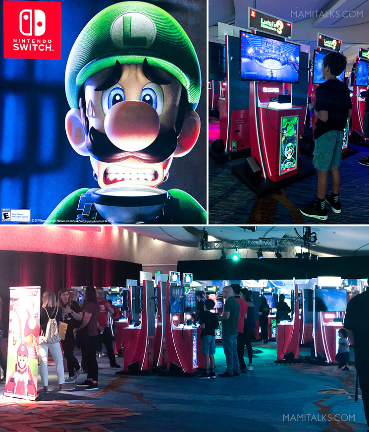 Nintendo event at Comicon 2019, Luigi's Mansion 3. -MamiTalks.com