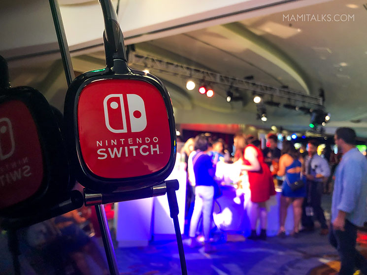 Nintendo Switch event for families. -MamiTalks.com