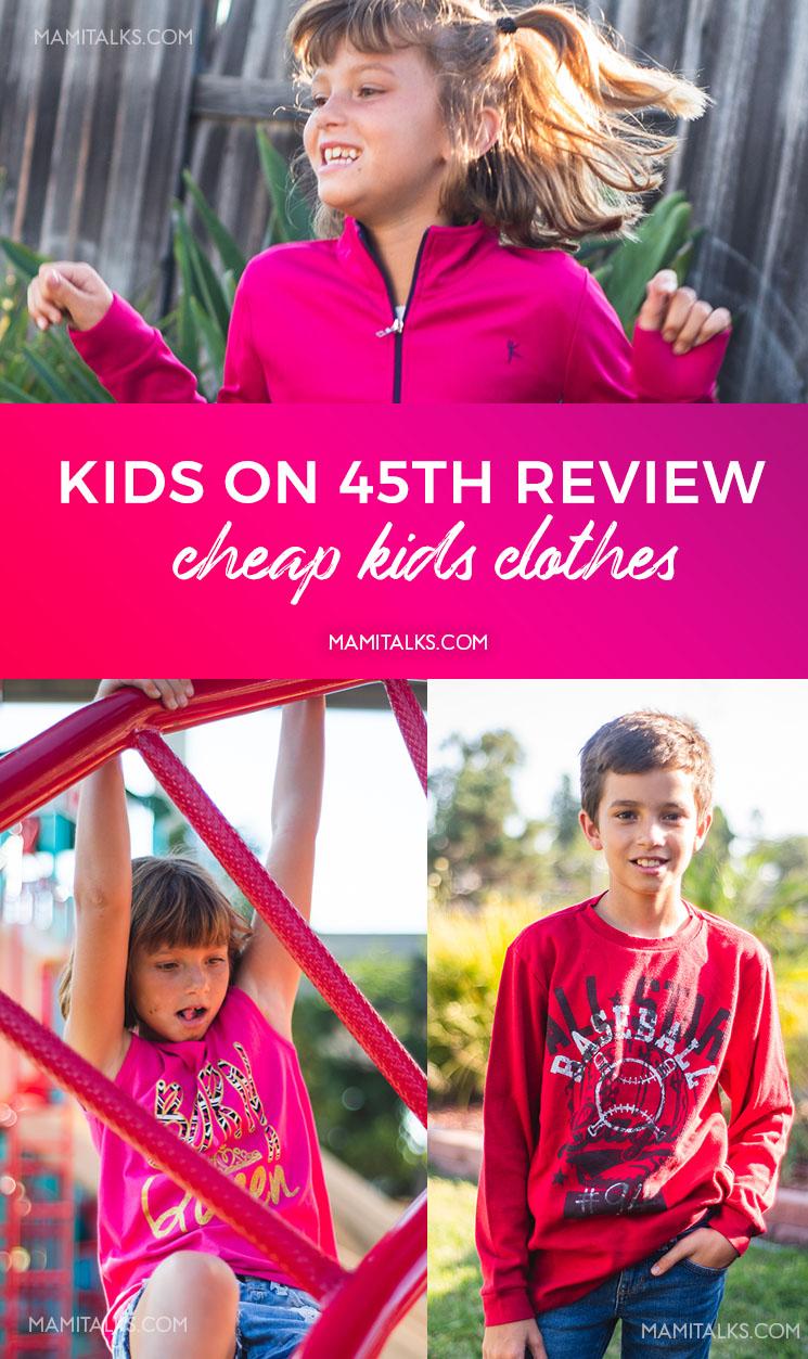 Kids wearing