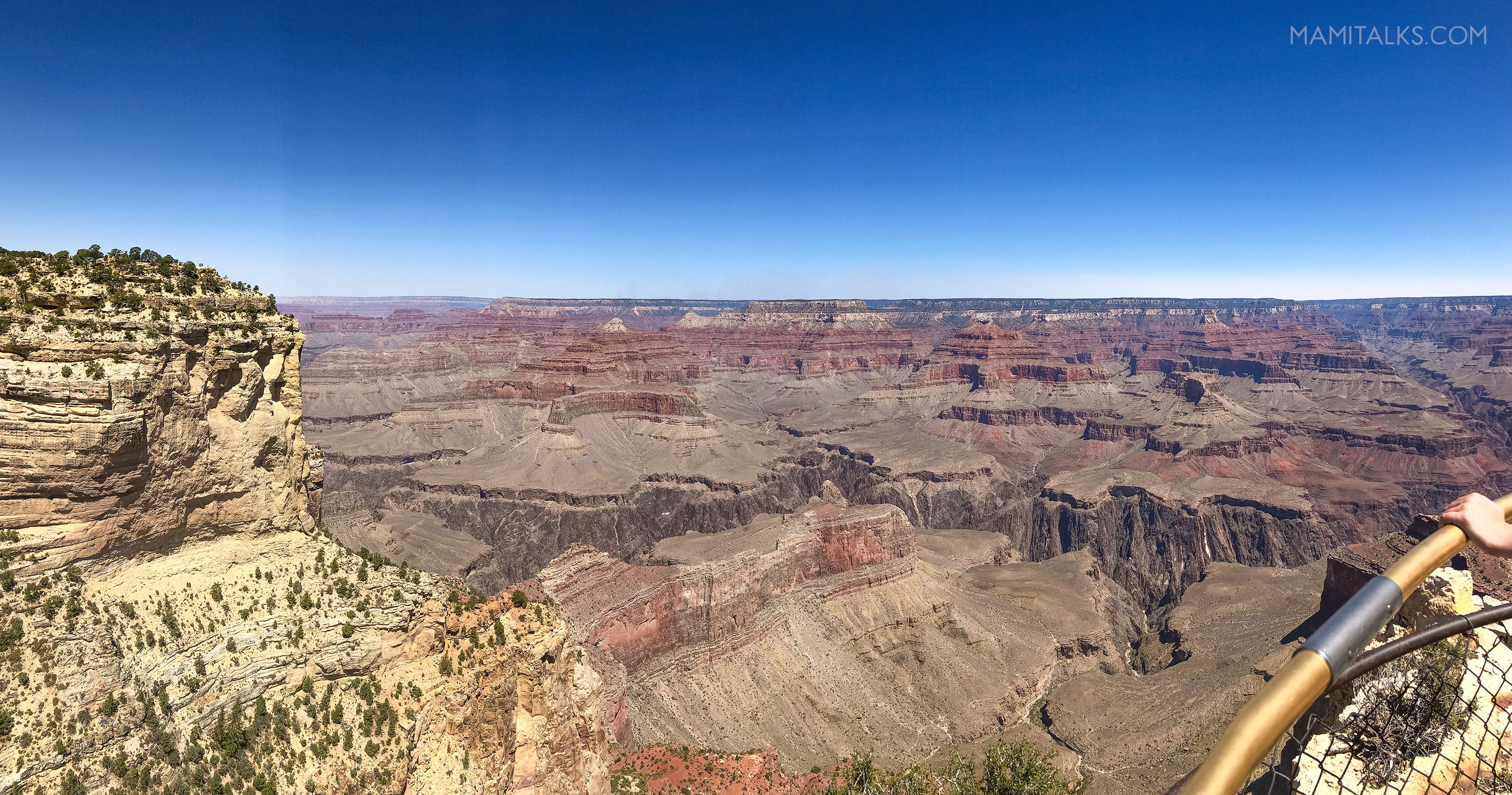 Panoramic view of the Grand Canyon. -MamiTalks.com