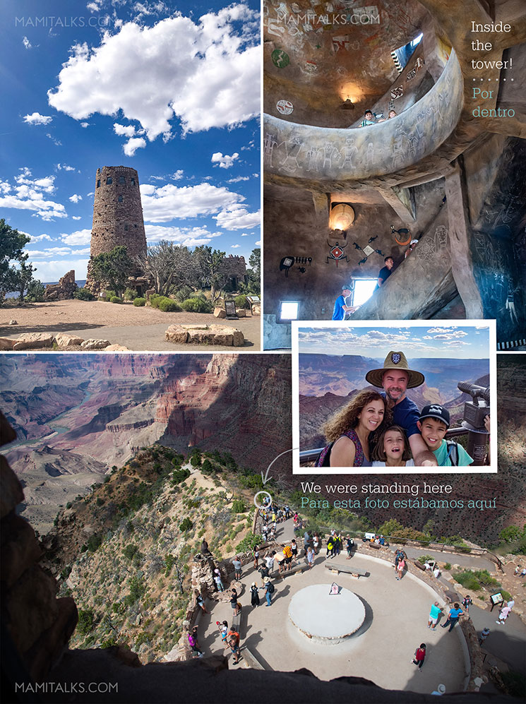 Desert Tower views and photos at the South Rim of Grand Canyon. -MamiTalks.com