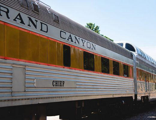 Grand Canyon railway and hotel experience. -MamiTalks.com