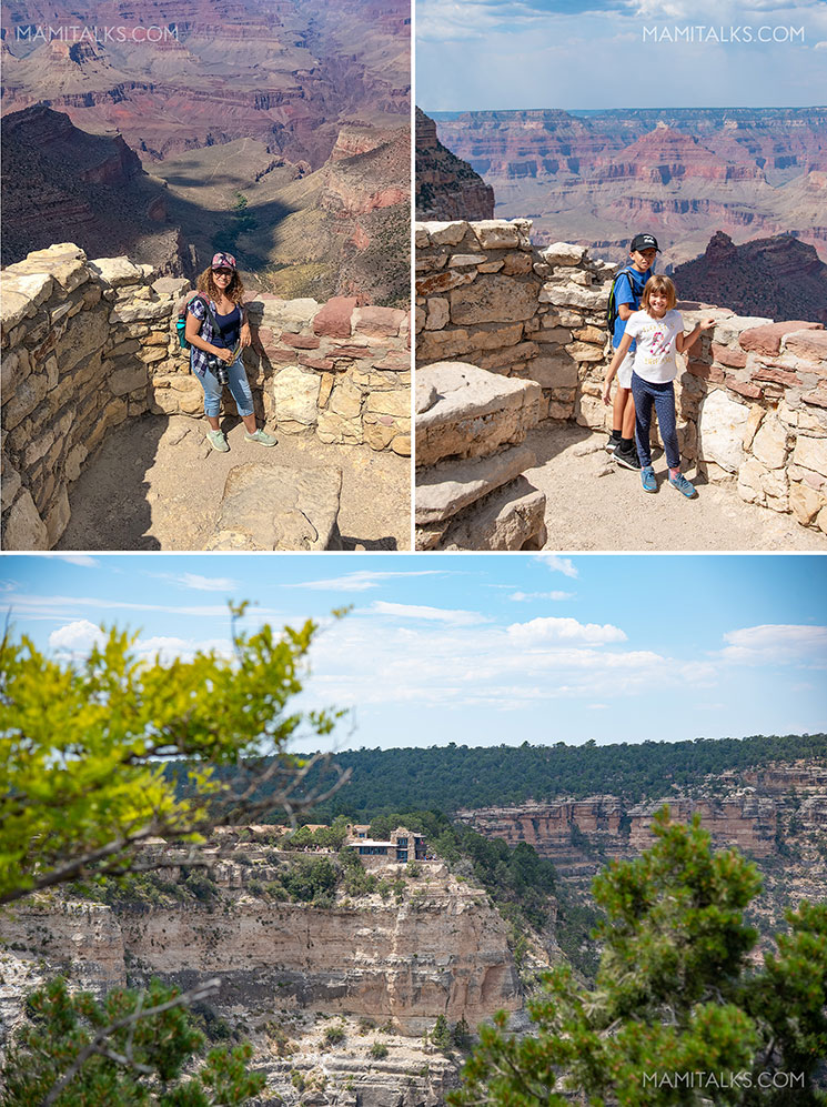 Mary Colbert's lookout studio vew at the Grand Canyon. -Mamitalks.com
