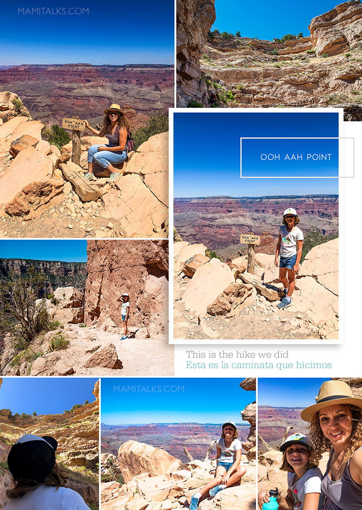 Ooh Ahh point hike at the South Rim Grand Canyon. -MamiTalks.com