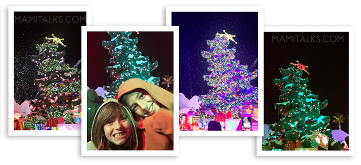 Topsy-turvy Grinchmas tree, Holidays at Universal Studios Holywood -MamiTalks.com