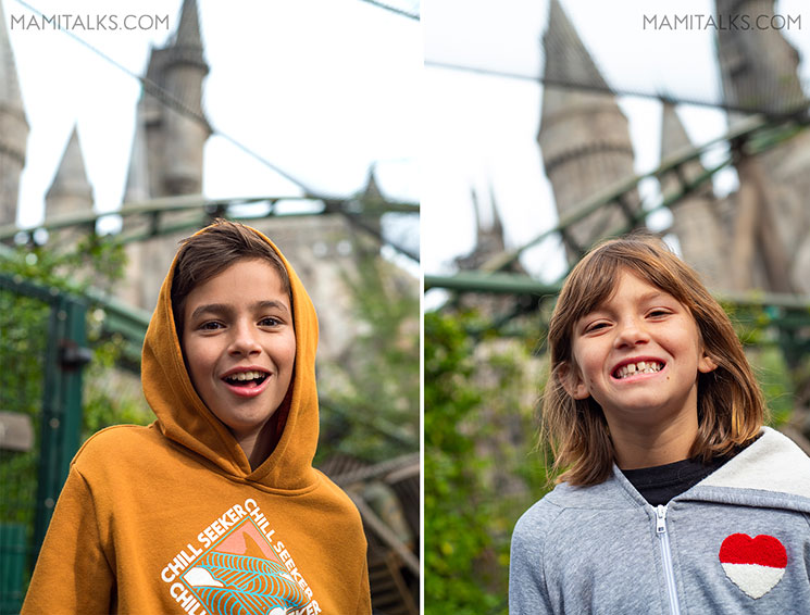 Kids at Wizarding World of Harry Potter, Holidays at Universal Studios Holywood -MamiTalks.com