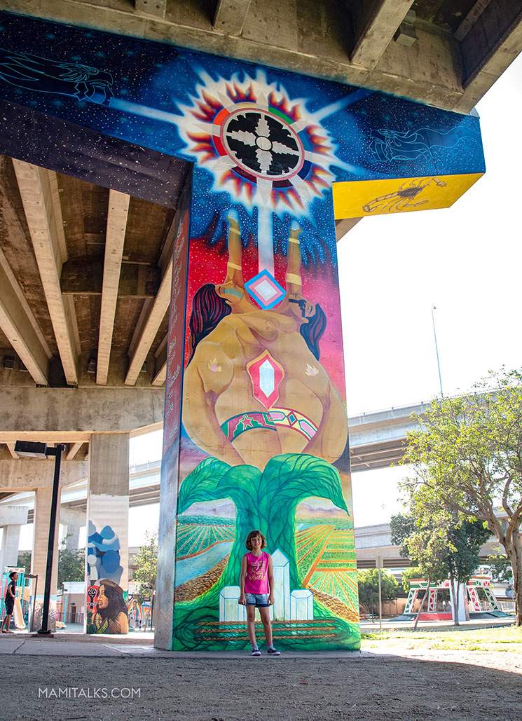 Chicano park freeway columns art. -MamiTalks.com