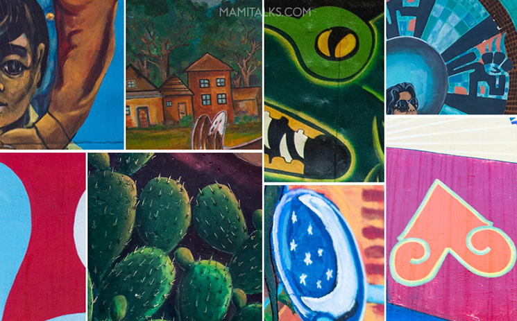 Closeups of Chicano park murals, find the picture game! -MamiTalks.com