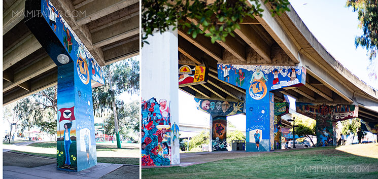 Art in San Diego Chicano park. -MamiTalks.com