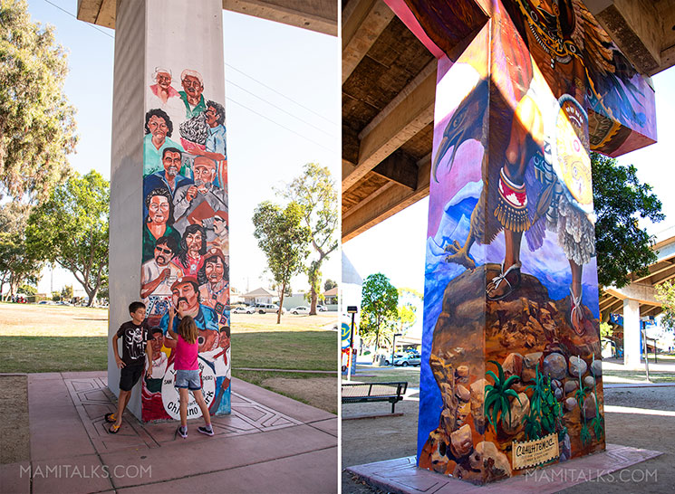 Murals at chicano park san diego. -MamiTalks.com