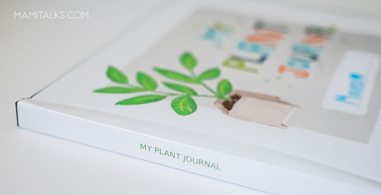 Side of the plant journal. MamiTalks.com